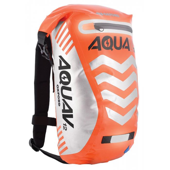 Vodotěsný batoh Oxford Aqua V12 Extreme Visibility fluo oranžový