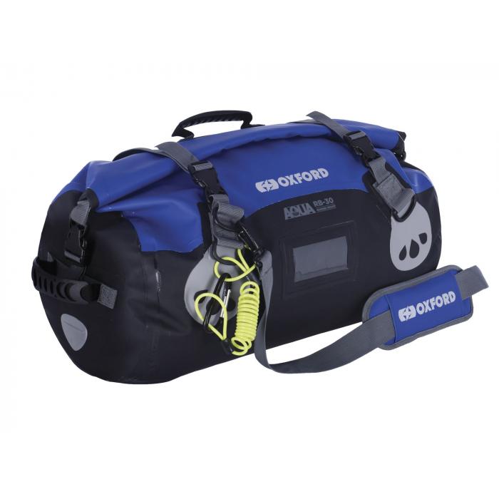 Vodotěsný vak Oxford Aqua RB-30 Roll Bag černo-modrý