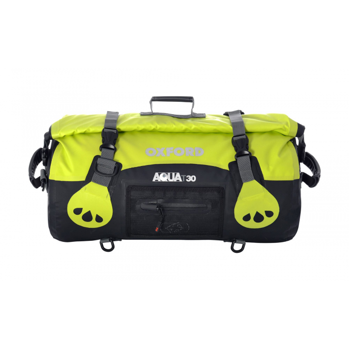 Vodotěsný vak Oxford Aqua30 Roll Bag černo-fluo žlutý