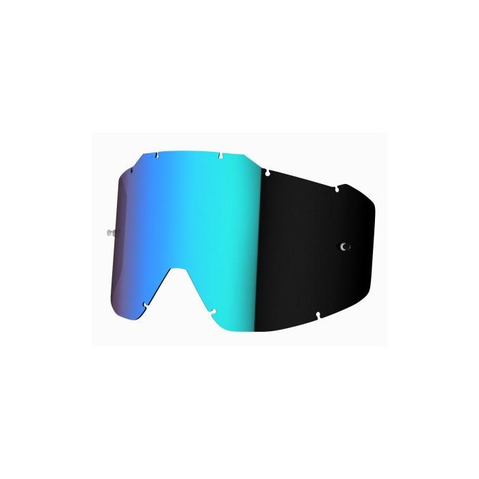 Zeleně iridiové sklo do brýlí Shot Assault/ Iris