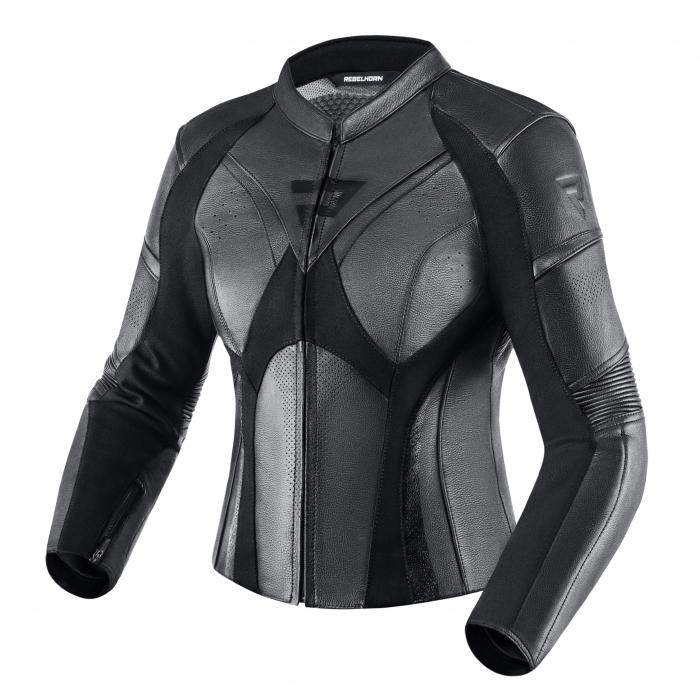 Dámská bunda na motorku Rebelhorn Rebel černá